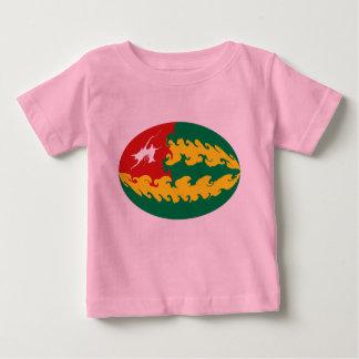 Gnarly Flaggen-T - Shirt Togos