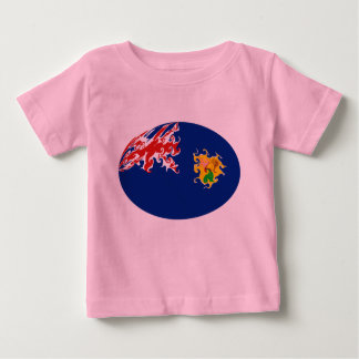 Gnarly Flaggen-T - Shirt Turks and Caicos Islands