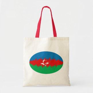 Gnarly Flaggen-Tasche Aserbaidschans