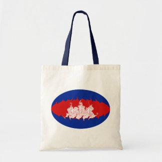 Gnarly Flaggen-Tasche Kambodschas