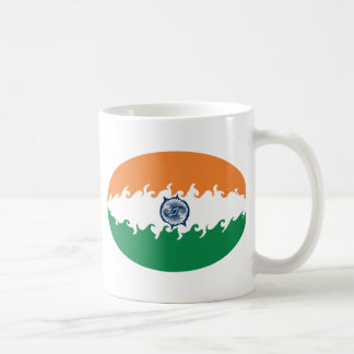 Gnarly Flaggen-Tasse Indiens Tasse