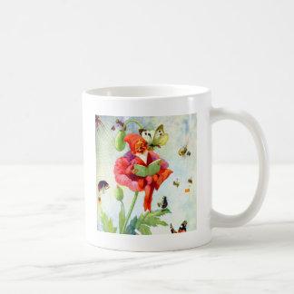 Gnome de pavot tasses à café
