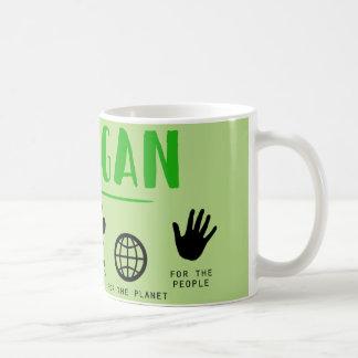 Go Vegan Kaffeetasse
