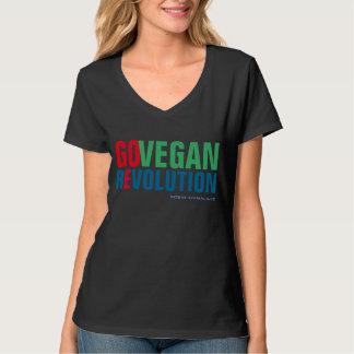 GO VEGAN REVOLUTION -02w T-Shirt
