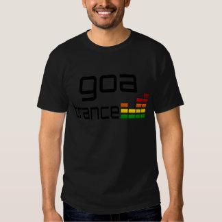 Goa Trance-Musik mit Stereoentzerrer T-shirts