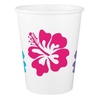 Gobelets En Papier Tasses de papier hawaïennes