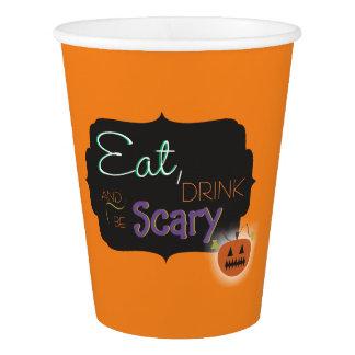 Gobelets En Papier Tasses de partie de Halloween