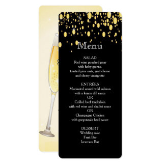 Gold, Imitat-Folien-Blasen, stilvolles, Karte