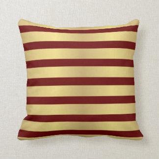 Gold stripes Kissen