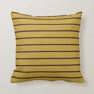 Gold zeichnet Dekor-Weiche moderne Kissen