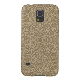Goldarabisches Spitze-Blumenmuster Samsung S5 Hülle