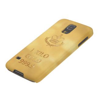 Goldbarren-Bar-Druck Galaxy S5 Hülle
