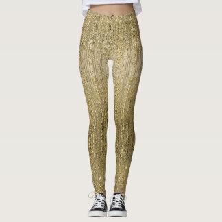 Goldbezaubernder Schimmer Leggings