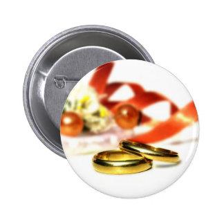 GoldEheringe Runder Button 5,1 Cm