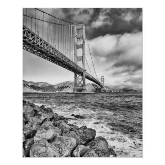 Golden gate bridge, Kalifornien Poster