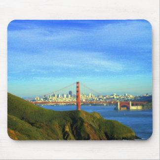 Golden gate bridge mousepads