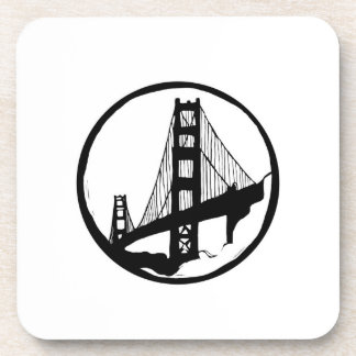 Golden Gate Brücke San Francisco Untersetzer