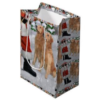 Golden retriever glauben Weihnachten Mittlere Geschenktüte