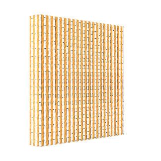 Goldene Brown-Muster Leinwanddruck