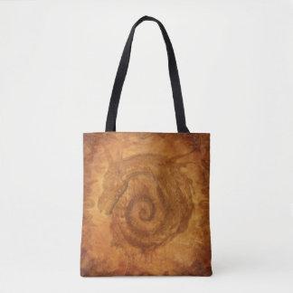 Goldene Celtic Magick Tasche