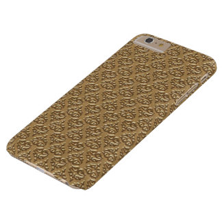 Goldene Damast IPhone 6 Plusfall Barely There iPhone 6 Plus Hülle
