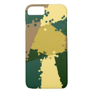 Goldene Dschungel-Camouflage iPhone 7 Hülle