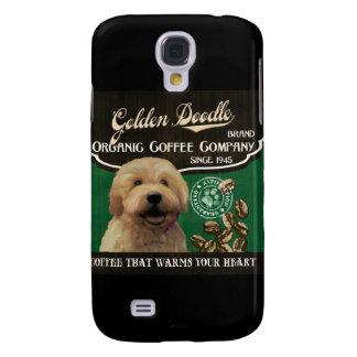Goldene Gekritzel-Marke - Organic Coffee Company Galaxy S4 Hülle