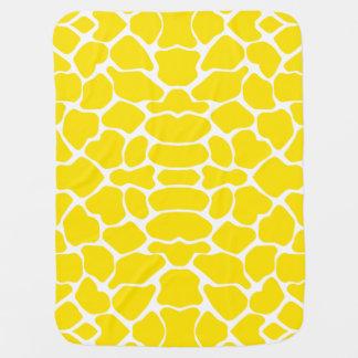 Goldene gelbe Safari-Giraffe Babydecke