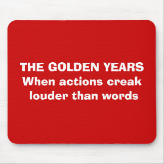 Goldene Jahre Mousepad