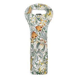 Goldene Lilien-Wein-Tasche Weintasche