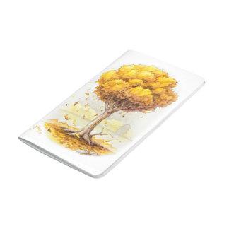Goldene Ruhe Taschennotizbuch