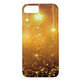 Goldene Sterne iPhone 8/7 Hülle
