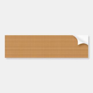 Goldene Streifen-Schablone DIY addieren Autoaufkleber