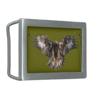 goldener Adler Rechteckige Gürtelschnallen