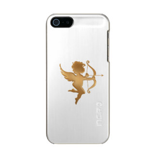 Goldener Amor Incipio Feather® Shine iPhone 5 Hülle