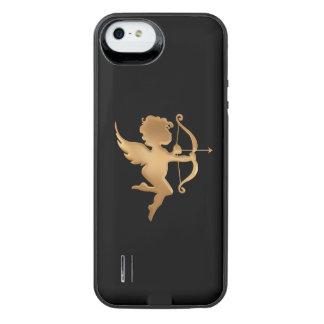 Goldener Amor iPhone SE/5/5s Batterie Hülle