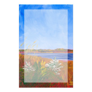 Goldener Delaware River Briefpapier