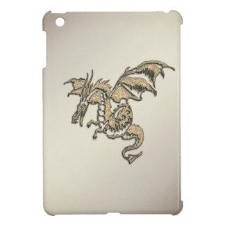 Goldener Drache iPad Mini Hülle