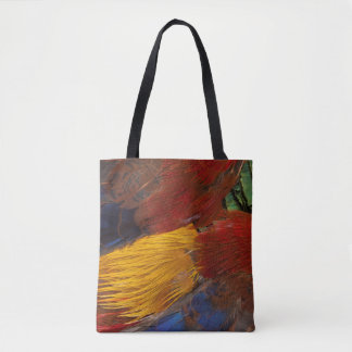 Goldener Fasan-Feder-Entwurf Tasche