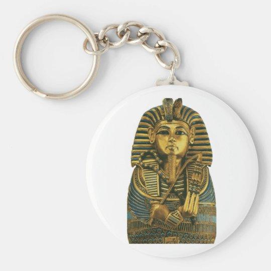 Goldener König Tut Schlüsselanhänger