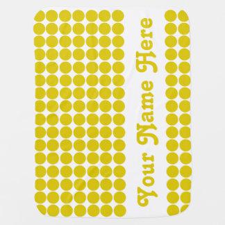 Goldener Mohnblumen-Safari-Punkt mit Namen Puckdecke