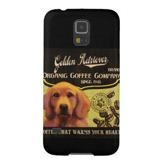 Goldener Retriever-Marke - Organic Coffee Company Samsung S5 Hülle