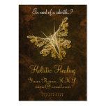 Goldener Schmetterling - holistisches Heilen Jumbo-Visitenkarten