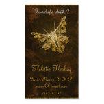 Goldener Schmetterling (Modell 2) - holistisches Visitenkarten