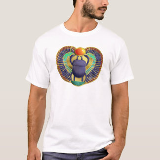 Goldener Winged Scarabäus T-Shirt