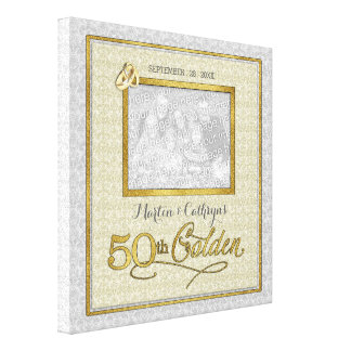 goldenes 50. Jahrestags-Foto der Gespannter Galerie Druck
