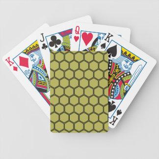 Goldenes Hexagon 3 Spielkarten