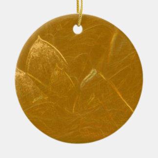 Goldenes Lotus ätzte Muster der Keramik Ornament