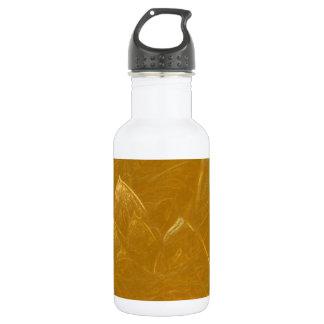 Goldenes Lotus ätzte Muster der Trinkflasche