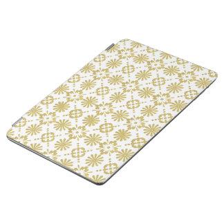Goldenes viktorianisches Muster iPad Air Hülle